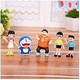 No Figura de Anime Estatua Doraemon Japón Figura de acción de Dibujos Animados Animes PVC...