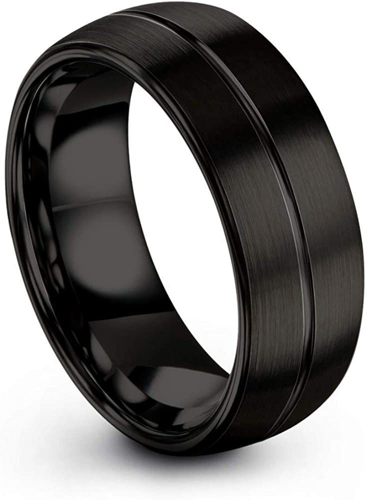 Chroma Color Collection In a popularity Tungsten Carbide Band f 8mm Ring Wedding Superior