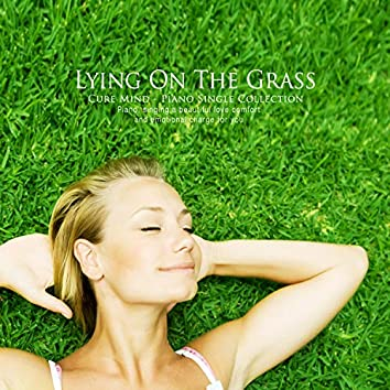 Laying on the grass