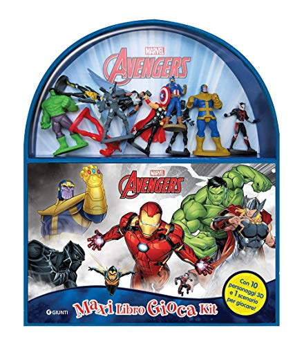 MARVEL AVENGERS ASSEMBLARE Top Trumps MATCH Gioco Cubo