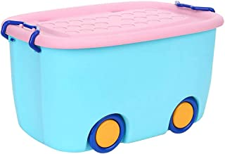 likeitwell Children s Colorful Toy Box Kids Boys Bedroom Storage Toy Box Playroom Laundry usefulness