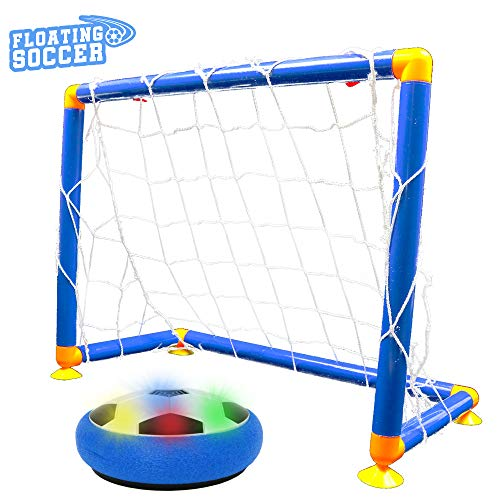 Big Mo's Toys Soccer Game - Indoor Sports Hover Soccer Ball with Goal Game - 1 Set
