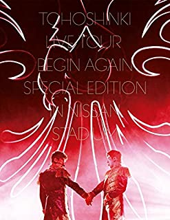 東方神起 LIVE TOUR ~Begin Again~ Special Edition in NISSAN STADIUM(Blu-ray Disc2枚組)(初回生産限定盤)