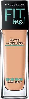 Maybelline Fit Me Matte+Pore Fdn 235 Pure Beige (Pump), 1FL OZ/30ML