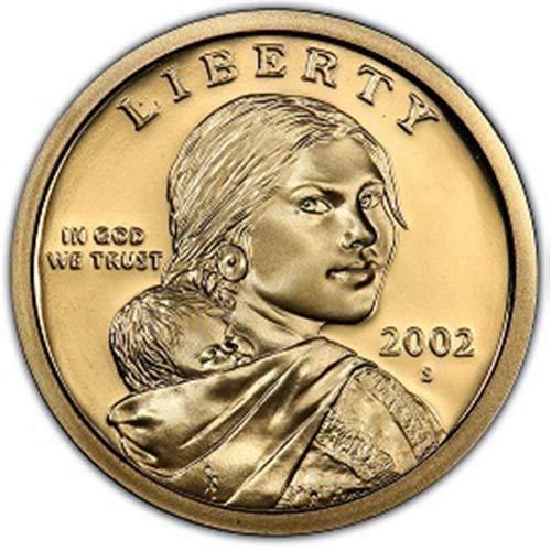 2002 S Proof Sacagawea Dollar Choice Uncirculated US Mint