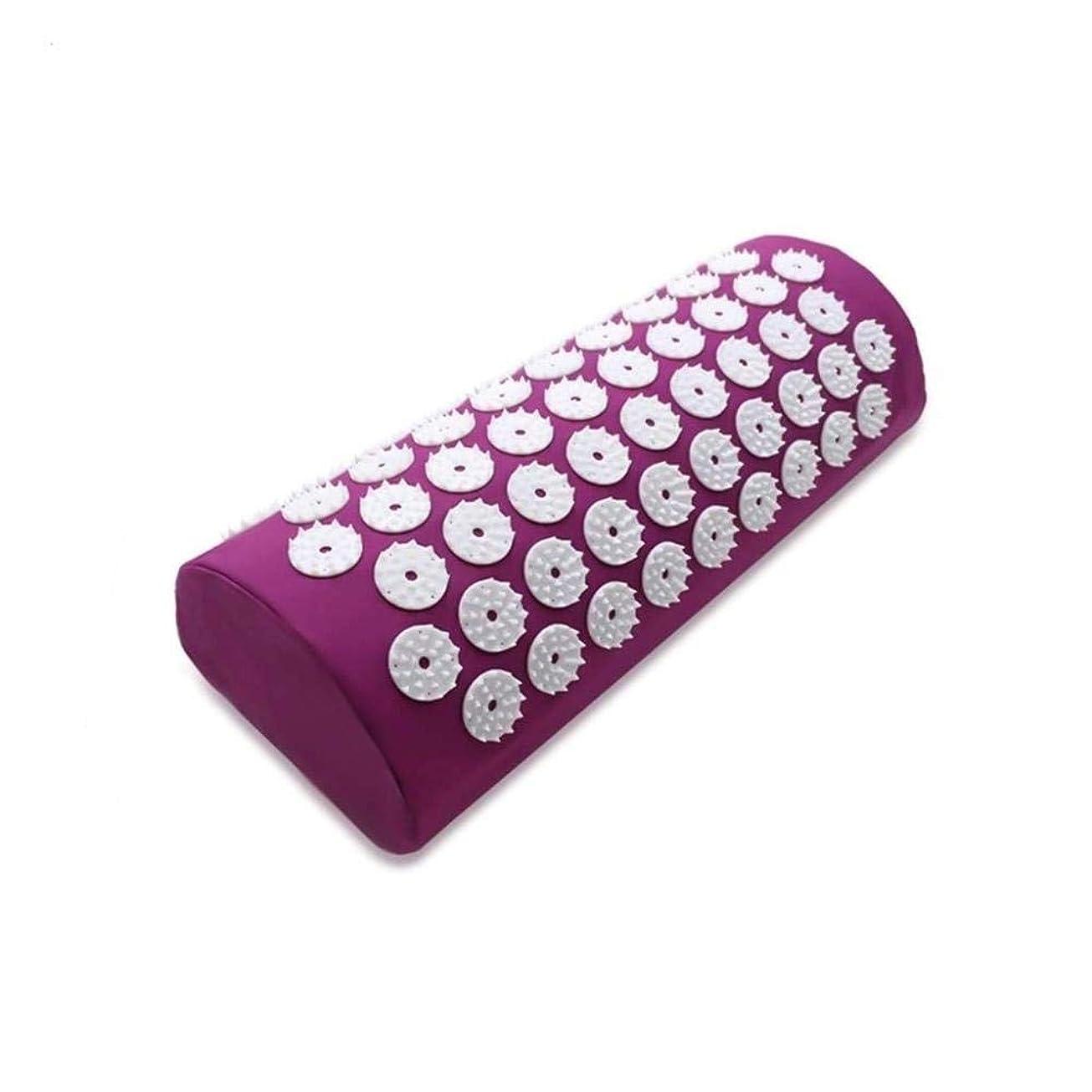 マッサージ少数国内の首、頭、肩のマッサージパッド用のオリジナル指圧枕-心地よいマッサージのためのマッサージ,Purple