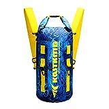KastKing Floating Waterproof Dry Bags, Shoreline Backpack, 30L