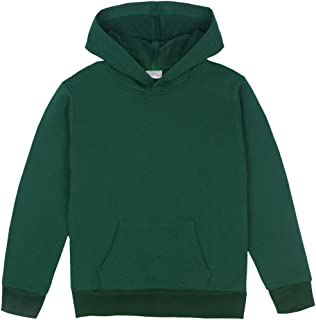 2c2f81b6b33ad1 Spring Gege Youth Solid Classic Hoodies Soft Hooded Sweatshirts for Children  (3-12 Years)