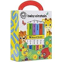 Baby Einstein - My First Library Board Book Block (12-Book Set)