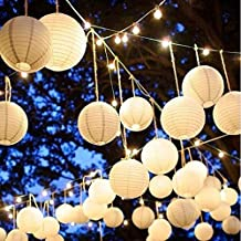 pop the party Paper Lantern, 14 Inches - Set of 10