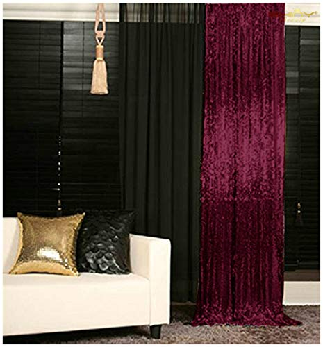 Glitter Backdrop Shower Curtain Set Shimmer Sequin Fabri Photography Backdrop ~0905S