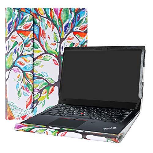 Alapmk Protective Case Cover For 14' Lenovo ThinkPad T14 T14s T490 T495 T495s T490s T480s T470s T460s T450s/ThinkPad P43s Laptop(Note:Not fit thinkpad T480 T470 T470p T460P T460 T450),Love Tree