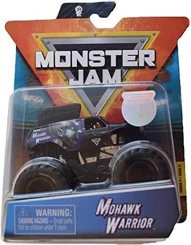Monster Jam 2020 Spin Master 1:64 Diecast Monster Truck with Wristband: Mohawk Warrior