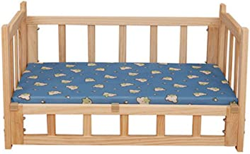Pet Waterloo Dog Bed - Kennel Dog Bed Kennel Removable and Washable Pet Solid Wood Bed Cat Litter Dog Mat Small Dog Suppli...
