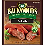 LEM Backwoods Cured Sausage Seasoning with Cure Packet, Andouille