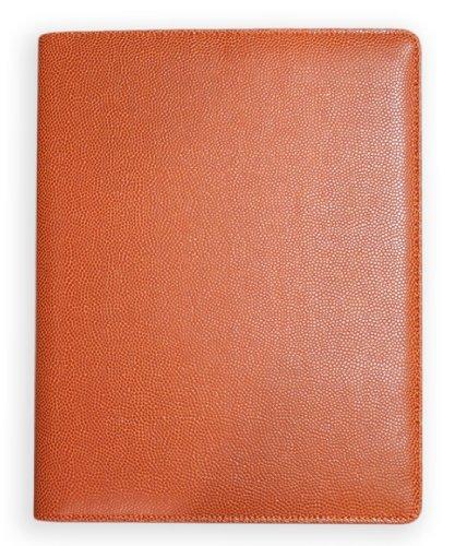 Actual Basketball Leather Material Agenda Planner Portfolio Padfolio Notepad
