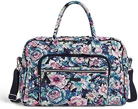 Vera Bradley Women's Cotton Weekender Travel Bag