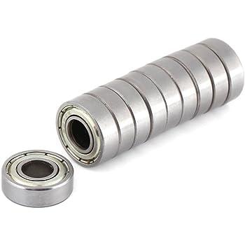 10pcs mini cuscinetti a sfera resistente al calore resistente multiuso cuscinetto in acciaio 698ZZ cuscinetti a sfera 8x19x6mm