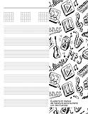 Cuaderno En Blanco de Tablatura para Guitarra con Seis Cuerdas: Facil! Notebook Con 7 Sistema De Tablatura De 6 Líneas y 5 Tabs por Página. Ideal para ... Musica Y Niños. (Beginner Guitar Sheet Music)