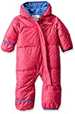 Columbia Baby Snuggly Bunny Bunting, Pink ice Sparkler/Arctic Blue, 12/18