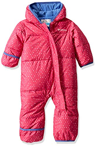 Columbia Baby Snuggly Bunny Bunting, Pink ice Sparkler/Arctic Blue, 3/6