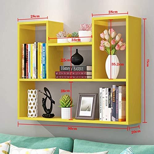 Lfixhssf Wandrek, vrijstaand, wandkast, voor slaapkamer, scheidingswanden, eenvoudig en modern, Lfixhssf Geel
