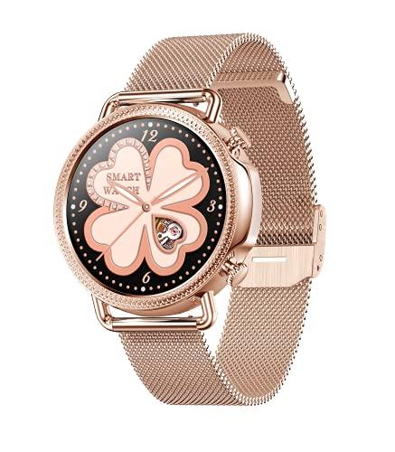 Smartwatch Orologio Fitness Uomo Donna con Saturimetro (SpO2)/ Pressione sanguigna di monitoraggio Misuratore/Cardiofrequenzimetro Impermeabile IP67 con Notifiche Messaggi