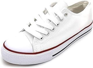 Zapatillas con Plataforma Zapatillas de Lona Mujer Zapatillas de Moda Recomienda coger una Talla m/ás de la Habitual.