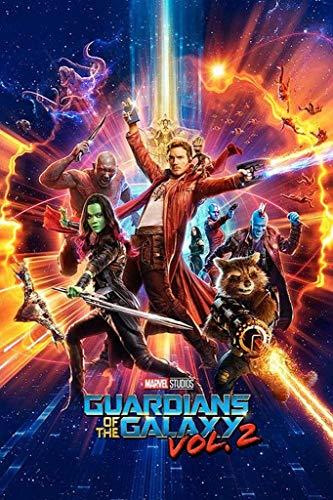 Pyramid International - Maxi poster con film 'Guardians of the Galaxy', in plastica/vetro, multicolore, 61 x 91,5 x 1,3 cm