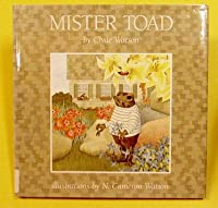 Mister Toad 0027925277 Book Cover