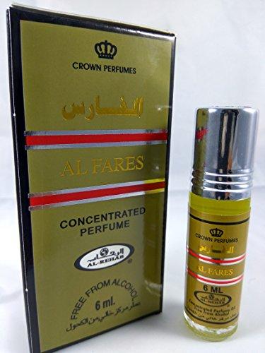Al Fares Perfume Oil - 6ml by Al Rehab Al fares perfume oil - 6ml by al rehab x 6 units