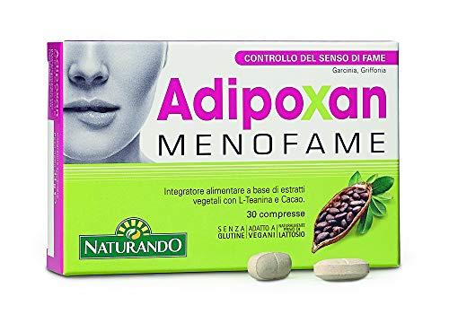 NATURANDO ADIPOXAN MENOFAME 30 COMPRESSE Integratore alimentare, aiuta a controllare il senso di fame