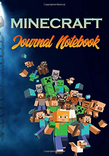 Minecraft: Journal Notebook: Minecraft Pig School Composition Notebook, Diary, Journal, Planner, Sketchbook, Diary, Journal, Planner, Sketchbook, ... For Kids, Boys, Girls (120 Wide Ruled Pages)