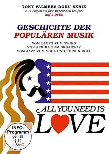 Geschichte der populären Musik - All you need is love - dt. Fassung [5 DVDs]