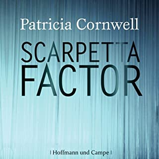 Scarpetta Factor audiobook cover art