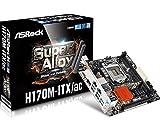 ASRock Motherboard Mini ITX DDR4 (H170M-ITX/AC)