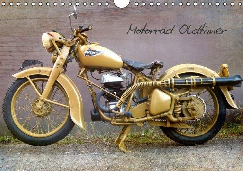 Motorrad Oldtimer (Wandkalender 2014 DIN A4 quer): Motorrad Oldtimer (Monatskalender, 14 Seiten)
