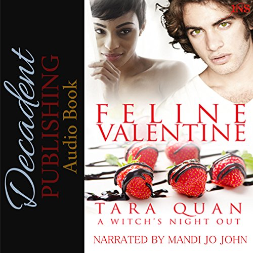 Feline Valentine     A Witch's Night Out, Book 4              By:                                                                                                                                 Tara Quan                               Narrated by:                                                                                                                                 Mandi Jo John                      Length: 1 hr and 59 mins     Not rated yet     Overall 0.0