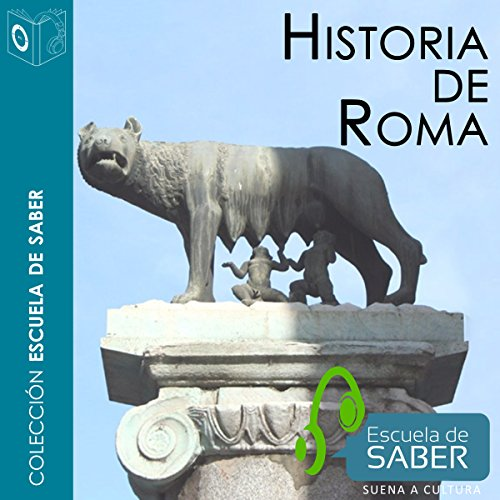 Historia de Roma [History of Rome] audiobook cover art