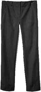 GAP Womens Black Bi-Stretch Slim Crop Zip Pocket Capri Pants 16
