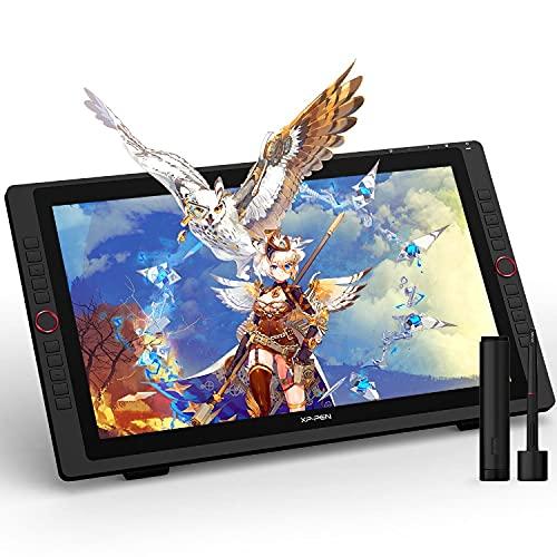XP-PEN Artist 22R Pro Tablette à Ecran Professionnelle de 21,5 Pouces Moniteur de Dessin avec l'Interface USB-C - Idéal Outil pour l'art Numérique