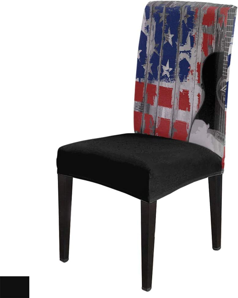 6Pcs Dining Chair Covers デポー Protector Washable Stretch Removable Se 本物◆
