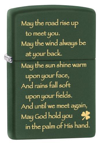 Zippo Irish Blessing Pocket Lighter