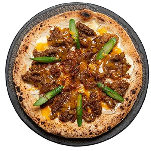 マツコの知らない世界 チルドピザ チルド PIZZAREBO 特製旨辛ダレ 黒毛和牛ピザ 1枚 ピザ 冷凍 お取り寄せ 全国お取り寄せギフトショップ限定 ショッパー付き