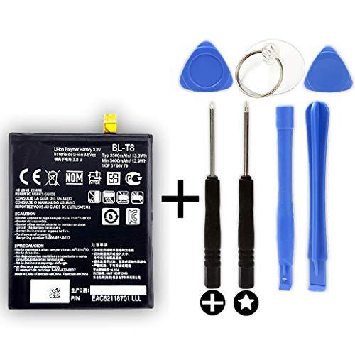 Accu BL-T8 voor LG Optimus G Flex + gereedschap (D955 / D958 / F340 / F340L)