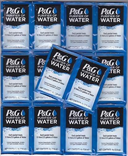 P & G Purifier of Water Packets 14-Pack Purification Powder Packs
