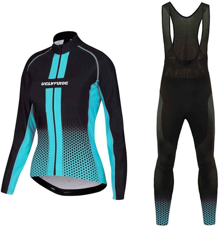 Uglyfrog Ladies Cycling Jersey Suits Winter Bike Wear