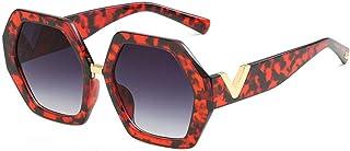 QPRER - Gafas De Sol,Rojo Personalidad Verano Niños Calle UV Gafas De Sol Niñas Bonita Playa Viento Y Polvo Gafas IR De Compras Gafas Recuerdo Regalo De Cumpleaños