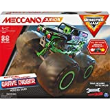 MECCANO- MEC JNR FR GML Junior, Kit de construcción Oficial Jam Tumger Monster Truck Stem con Motor de tracción, Juguetes para niños a Partir de 5 años (Spin Master 6060171)