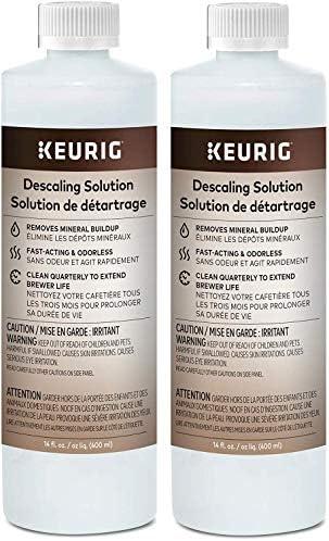 Keurig Descaling Solution Brewer Cleaner Includes 28 oz Descaling Solution Compatible with Keurig product image
